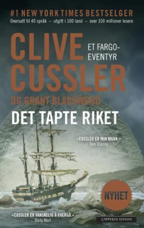 """""""Det tapte riket"""" av Clive Cussler"""