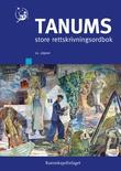 """""""Tanums store rettskrivningsordbok"""" av Boye Wangensteen"""