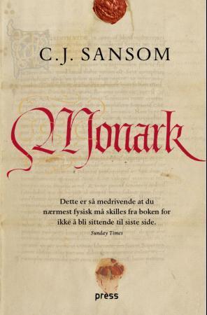 """""""Monark"""" av C.J. Sansom"""
