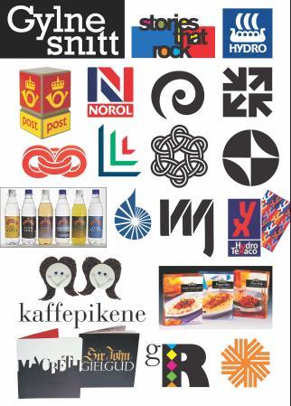 """""""Gylne snitt - grafisk design av Leif Frimann Anisdahl"""" av Leif Frimann Anisdahl"""