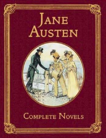 """""""Complete novels"""" av Jane Austen"""
