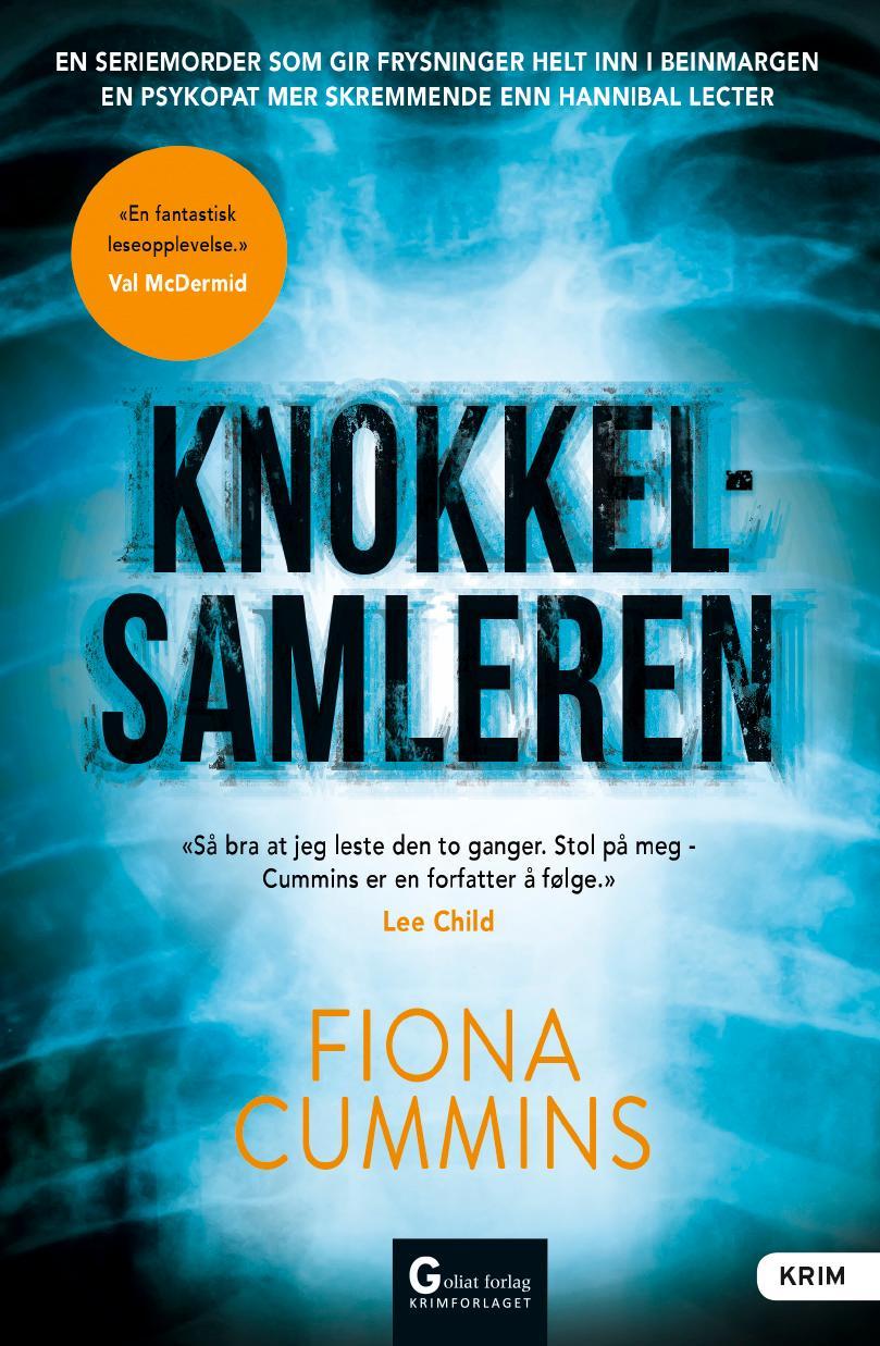 """""""Knokkelsamleren"""" av Fiona Cummins"""