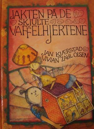 """""""Jakten på de skjulte vaffelhjertene"""" av Jan Kjærstad"""