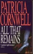 """All that remains"" av Patricia Cornwell"