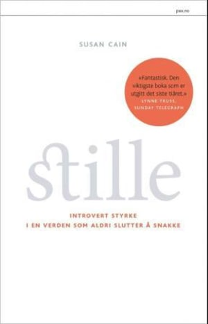 """""""Quiet - the power of introverts in a world that can't stop talking"""" av Susan Cain"""