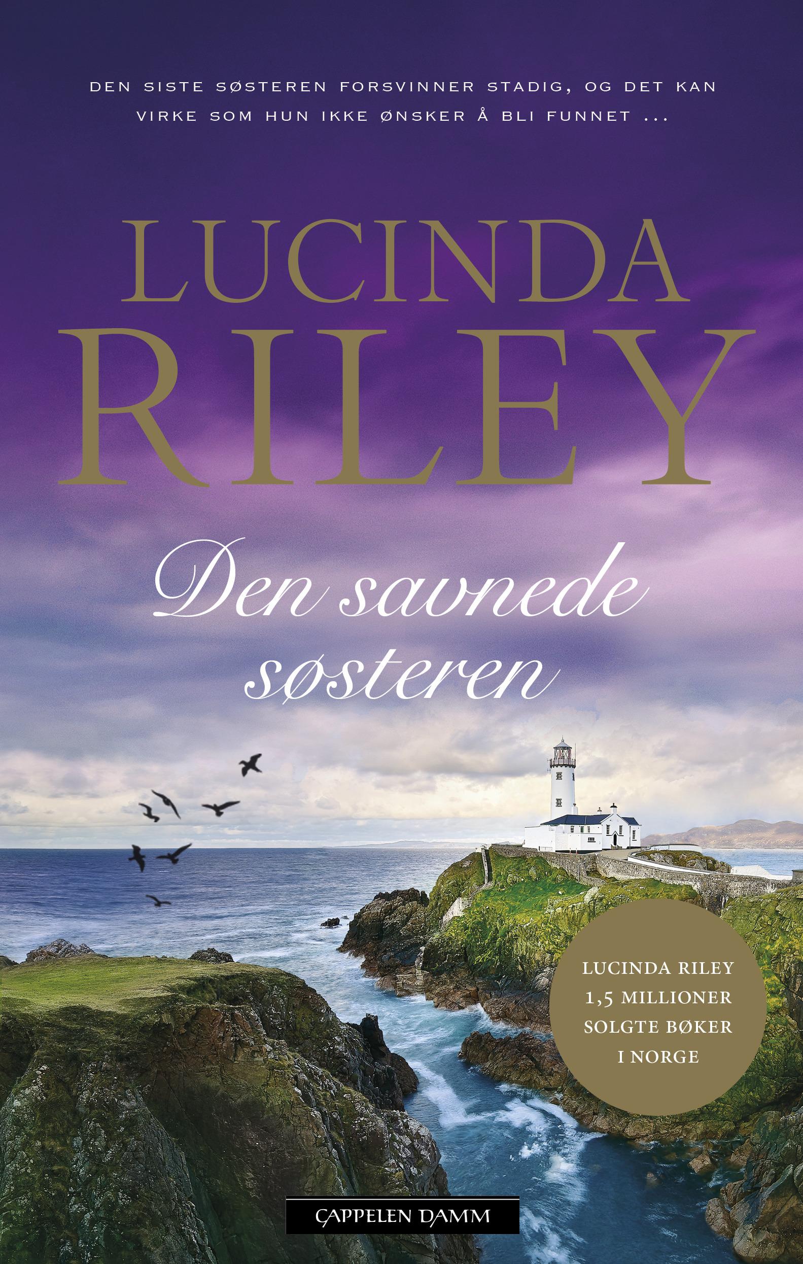 """""""Den savnede søsteren"""" av Lucinda Riley"""