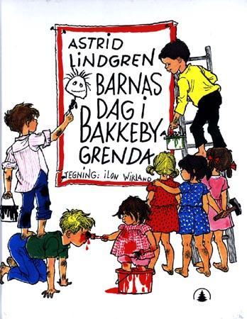 """""""Barnas dag i Bakkebygrenda"""" av Astrid Lindgren"""