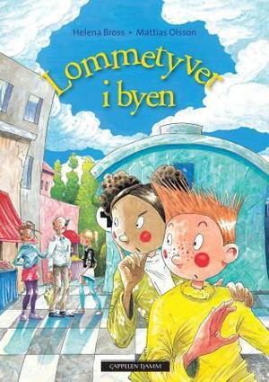 """""""Lommetyver i byen"""" av Helena Bross"""