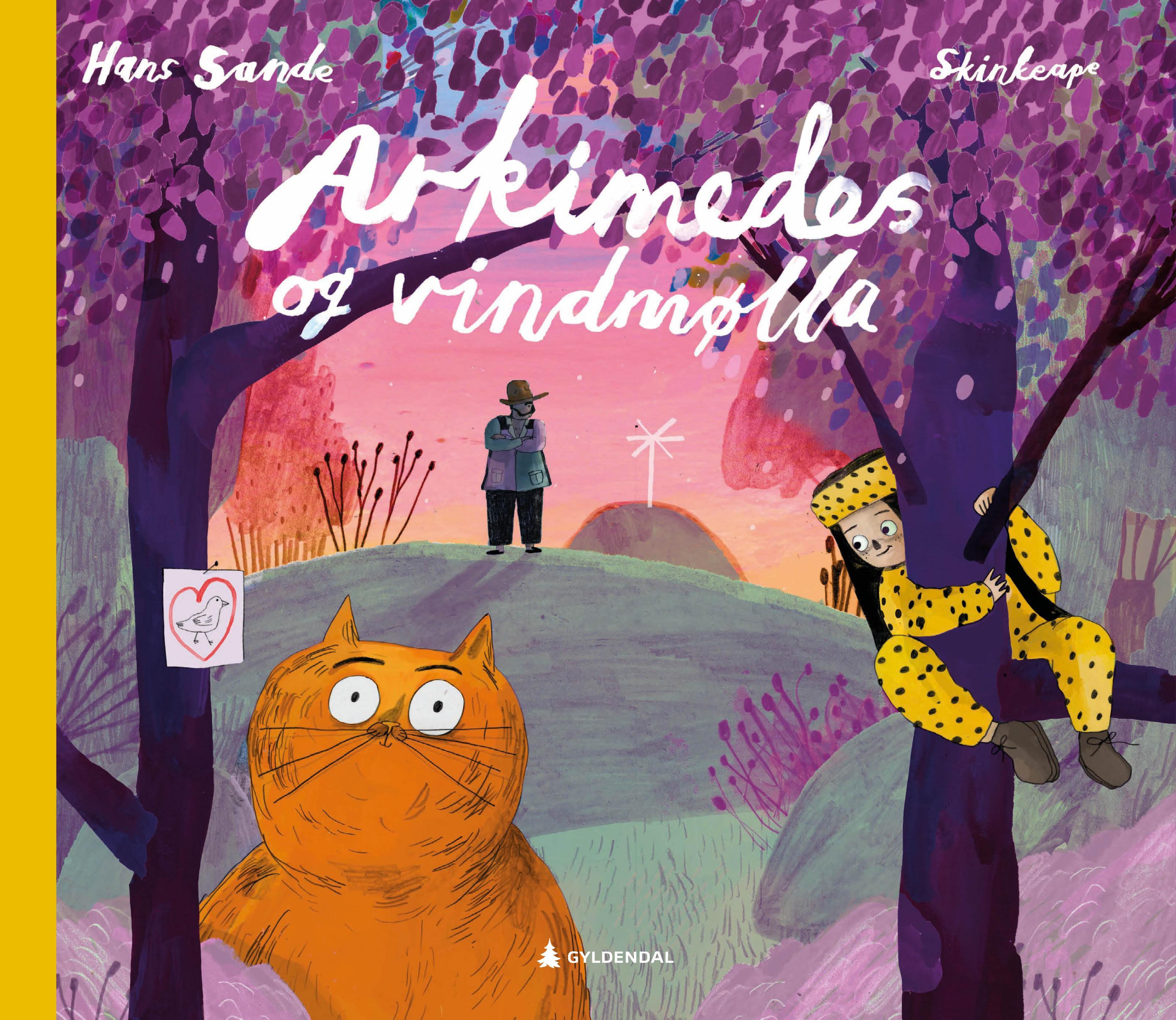 """""""Arkimedes og vindmølla"""" av Hans Sande"""