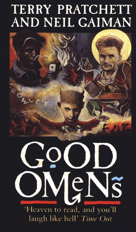"""""""Good omens - the nice and accurate prophecies of Agnes Nutter, witch"""" av Terry Pratchett"""