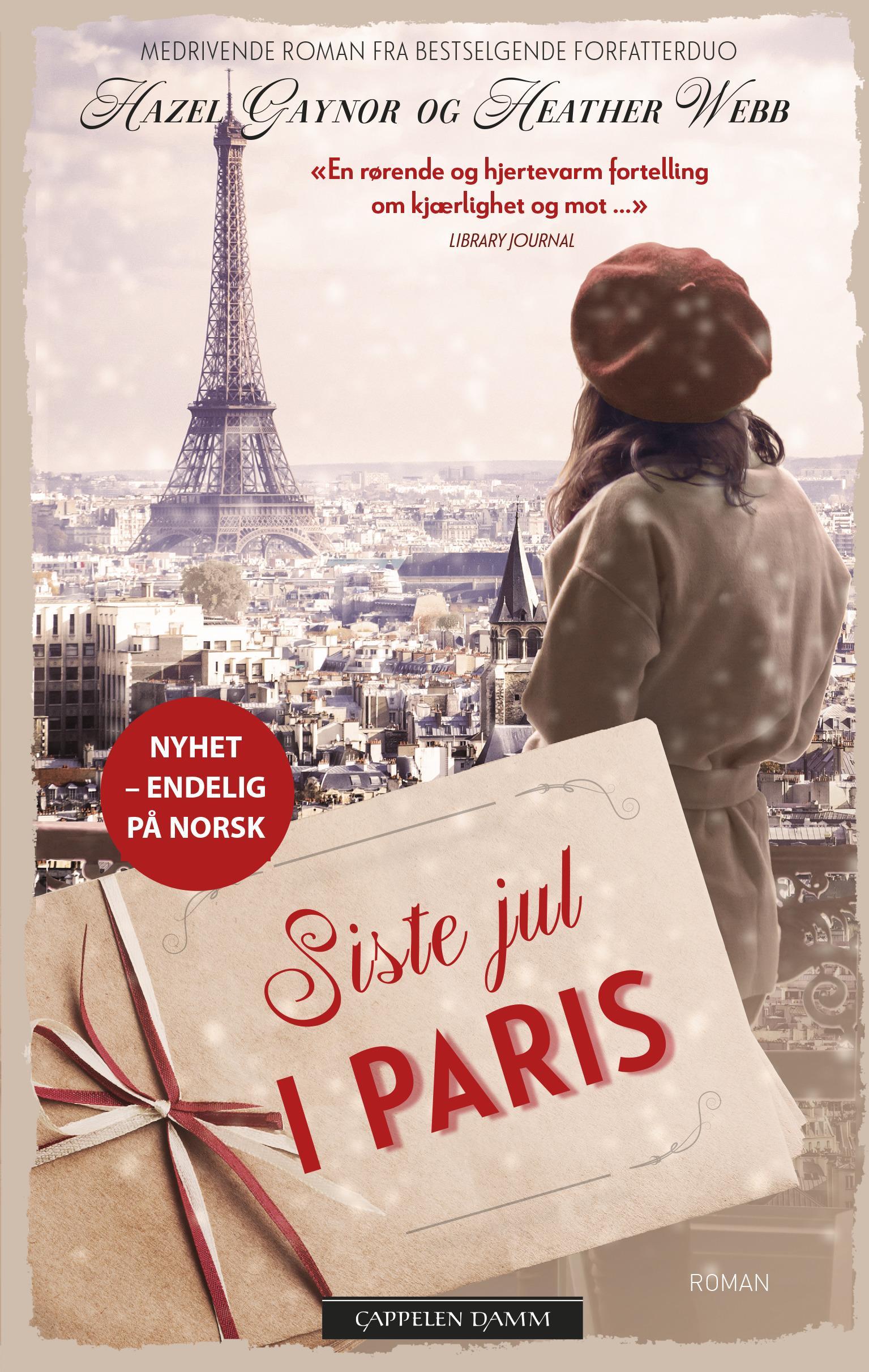"""""""Siste jul i Paris"""" av Hazel Gaynor"""
