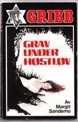 """""""Grav under høstløv - Gribb-serien 34"""" av Margit Sandemo"""