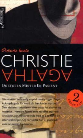 """""""Doktoren mister en pasient ; Invitasjon til mord"""" av Agatha Christie"""