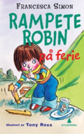 """""""Rampete Robin på ferie"""" av Francesca Simon"""