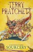 """""""Sourcery - discworld 5"""" av Terry Pratchett"""