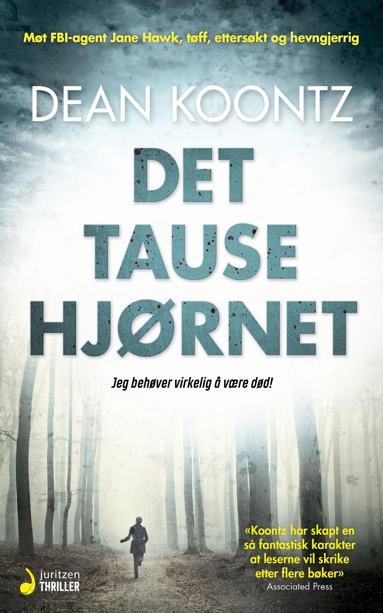 """""""Det tause hjørnet - en spenningsroman"""" av Dean R. Koontz"""
