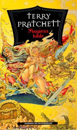 """""""Magiens kilde - legenden om skiveverdenen"""" av Terry Pratchett"""