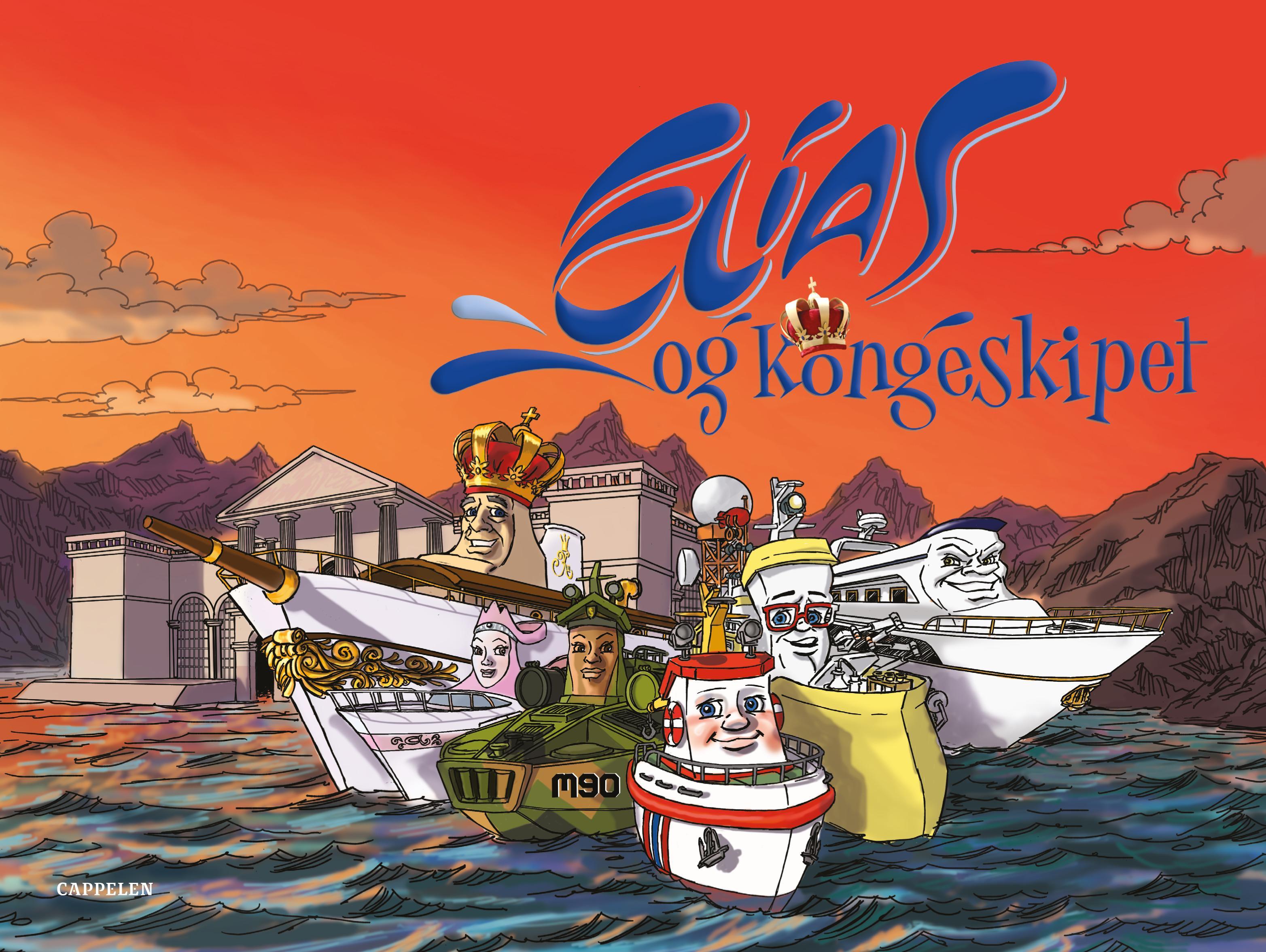 """""""Elias og kongeskipet"""" av Olav Asland"""