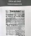 """""""1914 til 1945 - verdenskrigene"""" av Per Erik Olsen"""