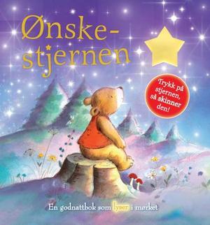 """""""Ønskestjernen - en godnattbok som lyser i mørket"""" av Melanie Joyce"""
