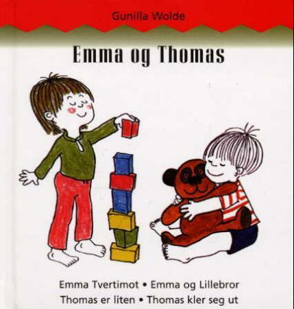 """Emma og Thomas"" av Gunilla Wolde"