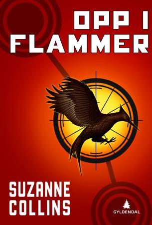"""""""Opp i flammer"""" av Suzanne Collins"""