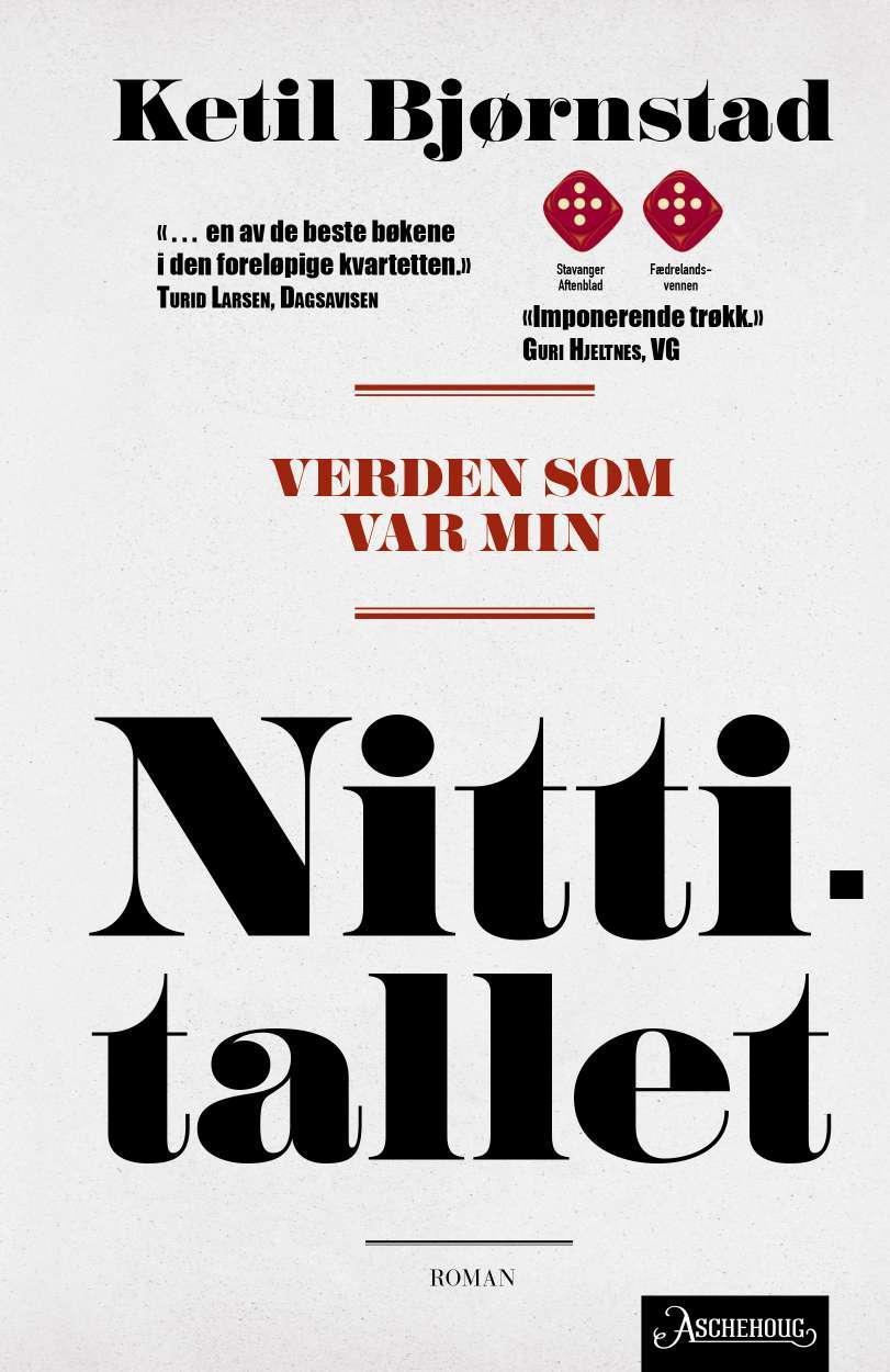 """""""Verden som var min - Bind 4"""" av Ketil Bjørnstad"""