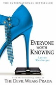"""Everyone worth knowing"" av Lauren Weisberger"