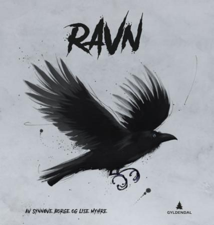 """Ravn - corvus crokax"" av Synnøve Borge"