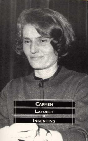 """""""Ingenting - roman"""" av Carmen Laforet"""