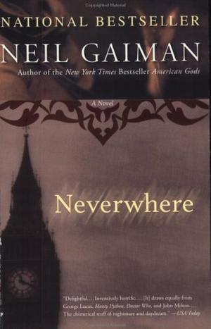 """""""Neverwhere - A Novel"""" av Neil Gaiman"""