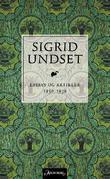 """""""Essays og artikler - 1930-1939"""" av Sigrid Undset"""