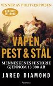 """""""Våpen, pest og stål - menneskenes historie gjennom 13 000 år"""" av Jared Diamond"""