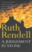 """A judgement in stone"" av Ruth Rendell"