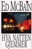 """""""Hva natten gjemmer"""" av Ed McBain"""