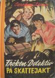 """""""Frøken detektiv på skattejakt"""" av Carolyn Keene"""