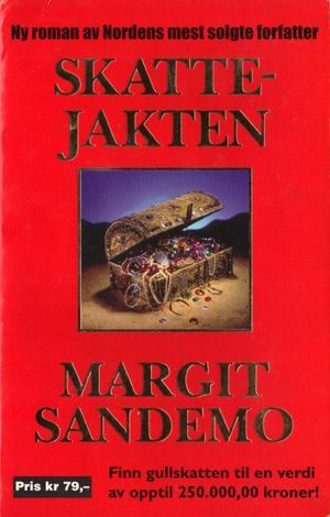 """""""Skattejakten"""" av Margit Sandemo"""
