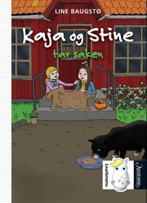 """""""Kaja og Stine tar saken"""" av Line Baugstø"""