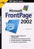 """Bli kjent med FrontPage 2002"" av May Britt Stamsø"