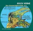 """""""Den hemmelighetsfulle øya"""" av Jules Verne"""