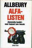 """""""Alfalisten"""" av Ted Allbeury"""