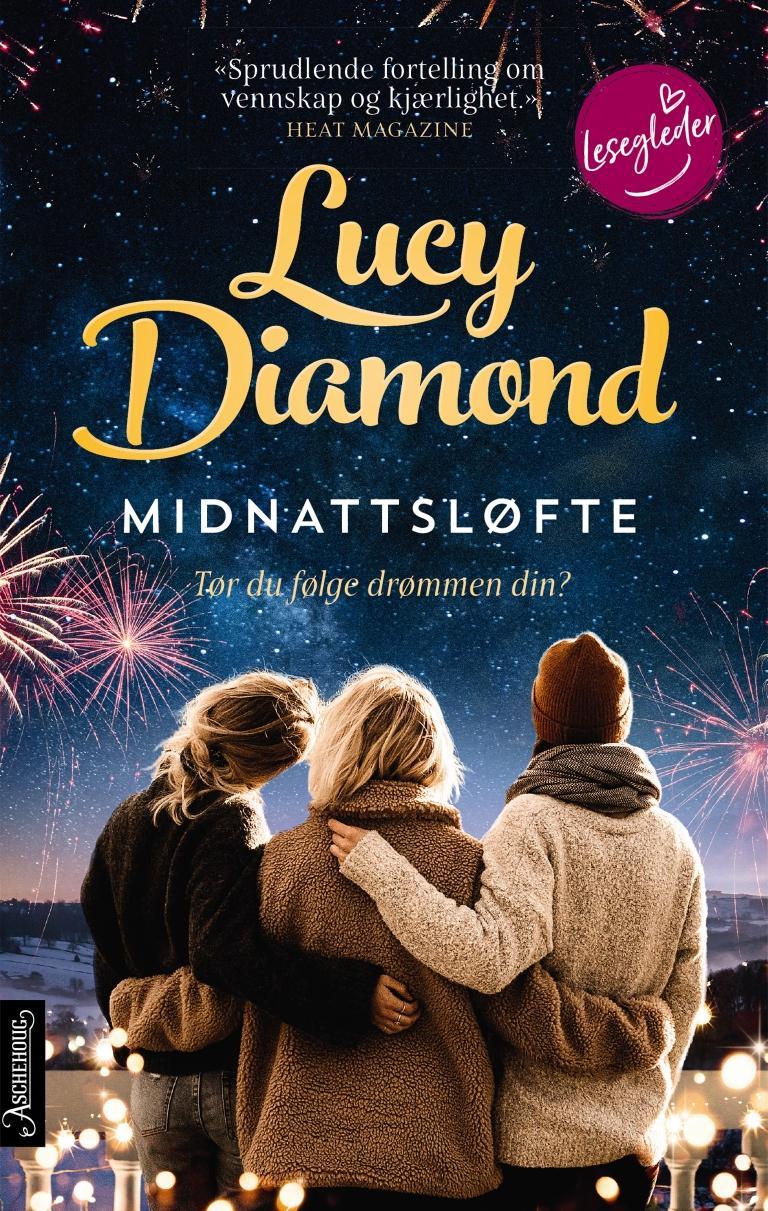 """""""Midnattsløfte"""" av Lucy Diamond"""