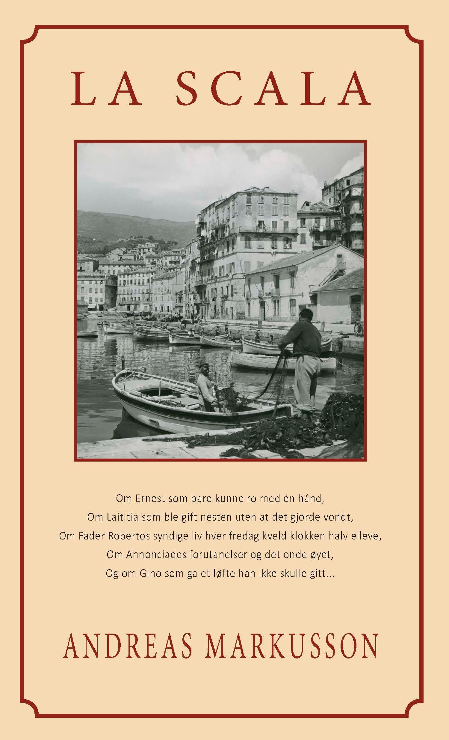 """La Scala - roman"" av Andreas Markusson"