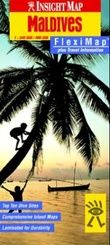 """""""Maldives - fleximap plus travel information"""""""