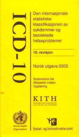 icd 10 helsedirektoratet