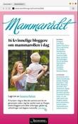 """Mammarådet - 16 kvinnelige bloggere om mammarollen i dag"" av Susanne Kaluza"