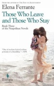 """Those who leave and those who stay"" av Elena Ferrante"