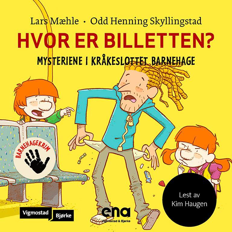 """""""Hvor er billetten?"""" av Lars Mæhle"""