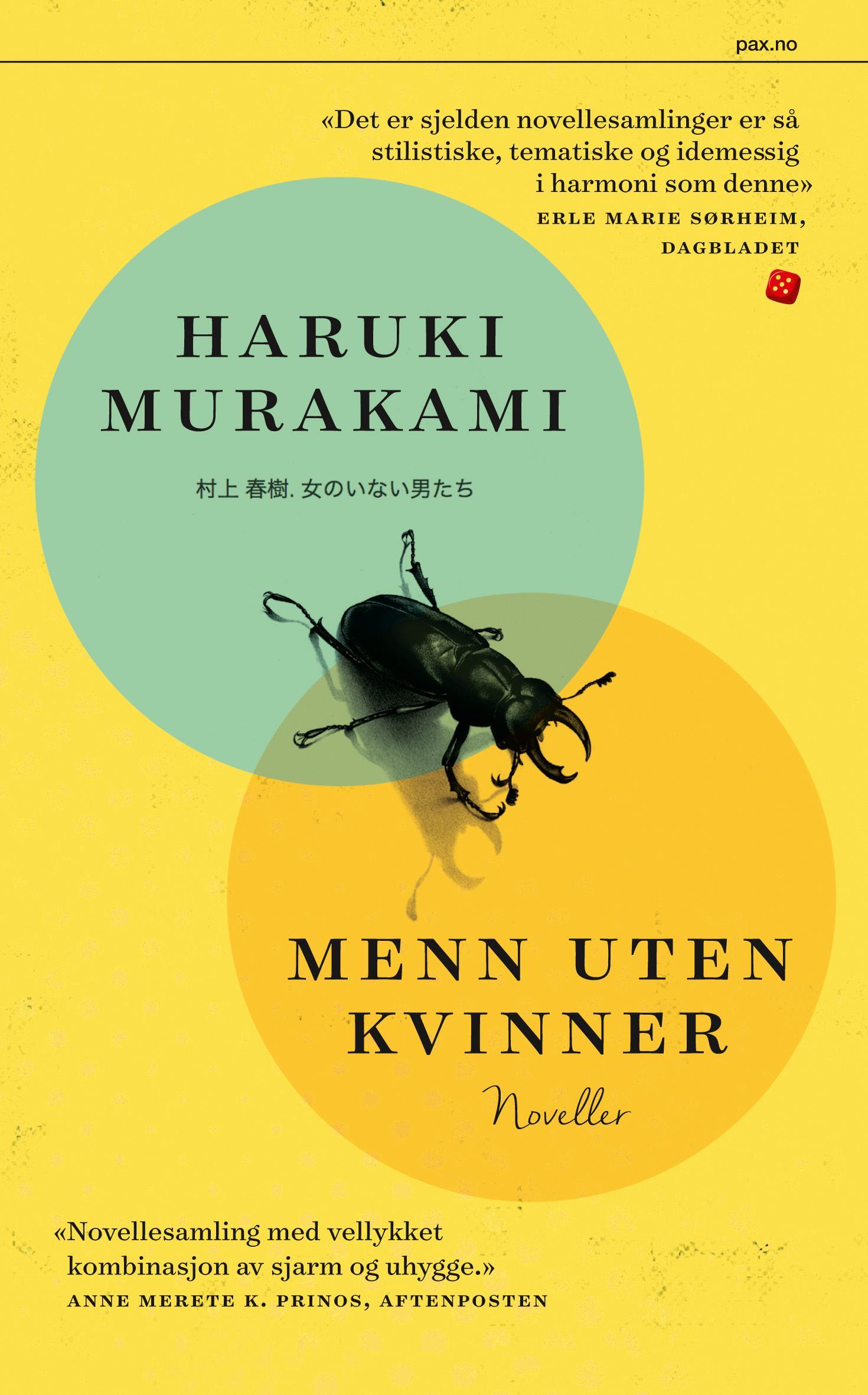 """""""Menn uten kvinner"""" av Haruki Murakami"""