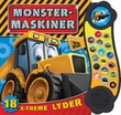 """""""Monstermaskiner - 18 x-treme lyder"""" av Brit Bergan"""
